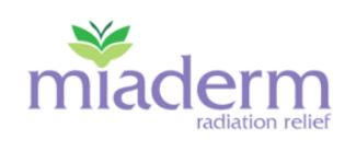 Miaderm radiation lotion